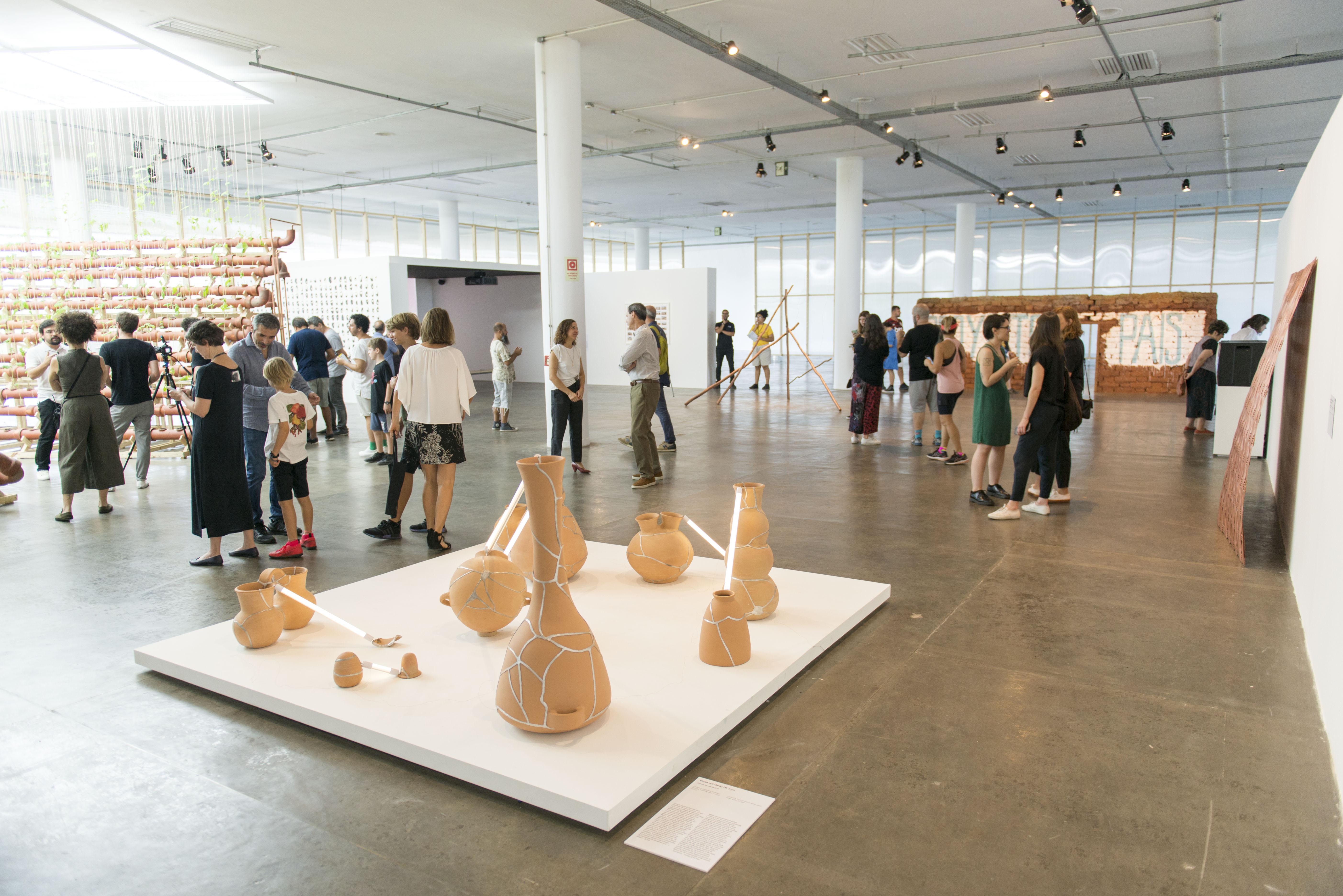 Exhibition view of Ximena Garrido-Lecca at the  34ª Bienal de São Paulo. 08/02/2020. © Leda Abuhab / Fundação Bienal de São Paulo