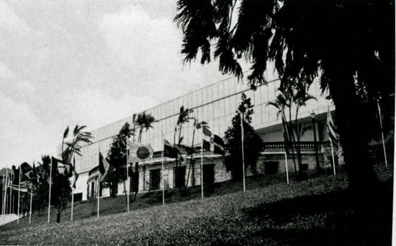 Pavilhão localizado na Esplanada do Trianon, na Avenida Paulista