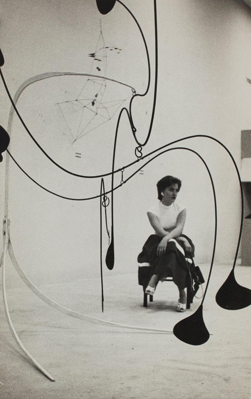 Alexander Calder, The Spider [Grande Aranha], na Sala Especial: Alexander Calder