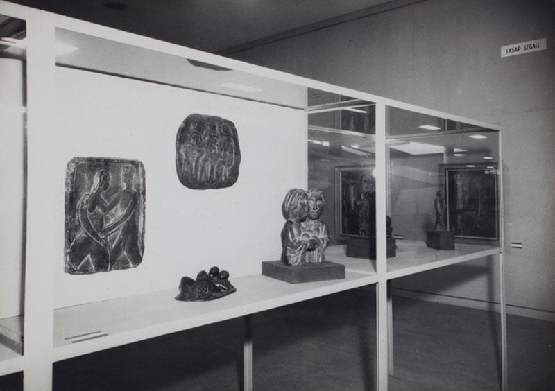 Sala Especial dedicada ao artista Lasar Segall na 3ª Bienal