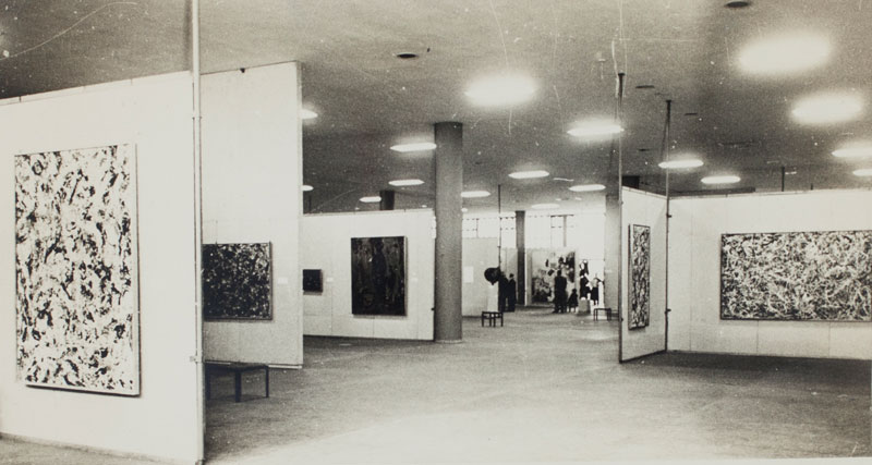 Sala Especial dedicada ao artista estadunidense Jackson Pollock