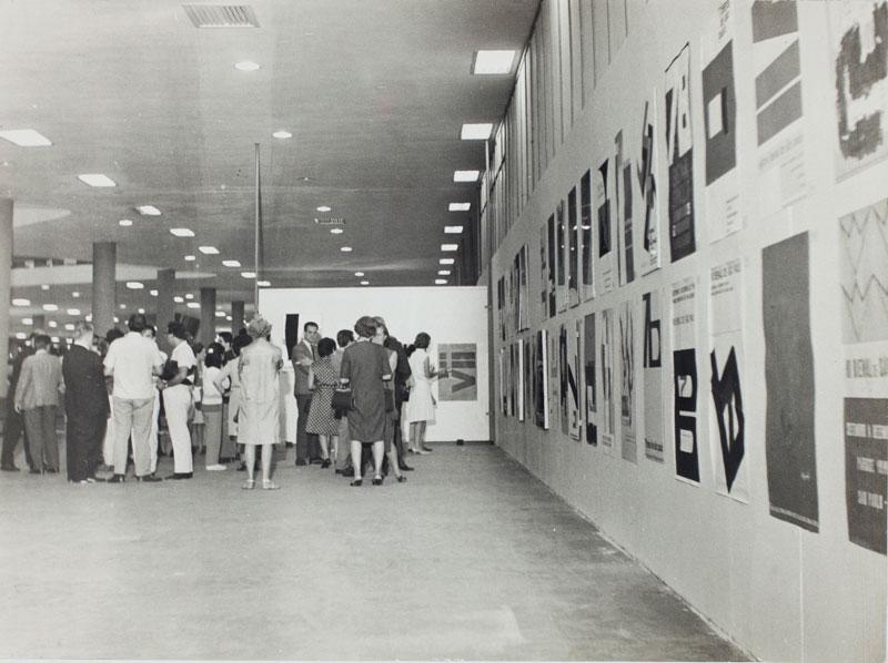 Exposição dos cartazes selecionados e premiados da 7ª Bienal
