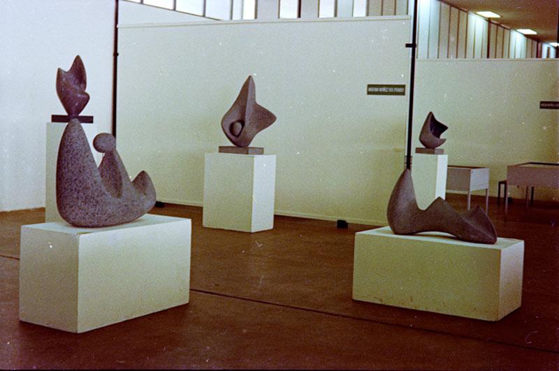 Sala Especial dedicada à escultora boliviana Marina Núñez del Prado