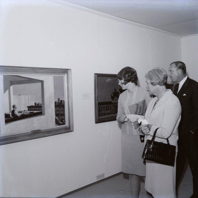 Sala Especial dedicada ao artista estadunidense Edward Hopper