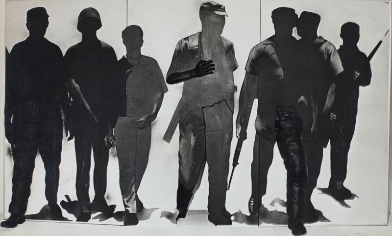 Rafael Canogar, Los Revolucionarios [Os Revolucionários]