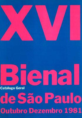 Catálogo 16ª Bienal de São Paulo - Bienal de São Paulo 263bfdb503443