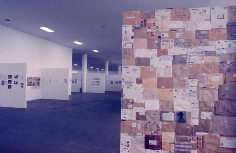 Segmento de Arte Postal na 16ª Bienal