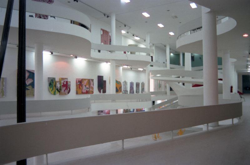 Montagem da 19ª Bienal