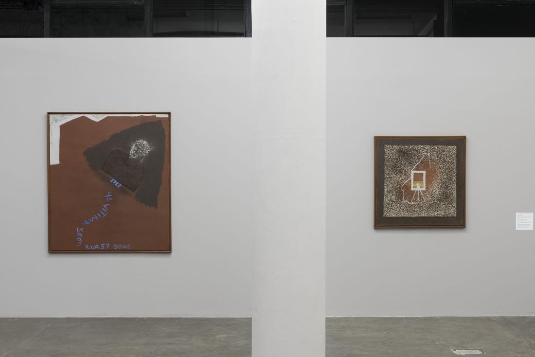 Siron Franco, Quarta vítima; Mapa de Goiás, 1987. 33ª Bienal de São Paulo.
