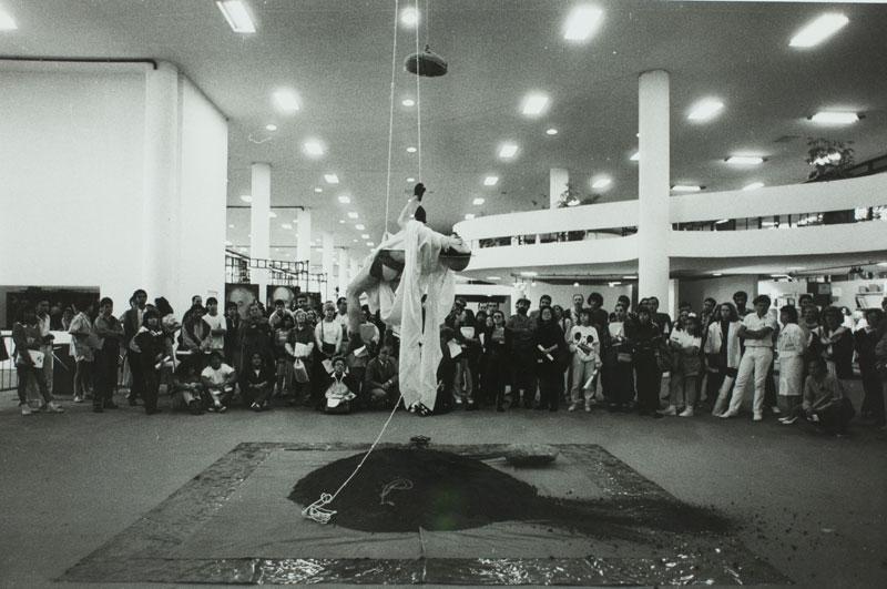 Rui Sekido, Performance do Limite Entre o Nirvana e o Material