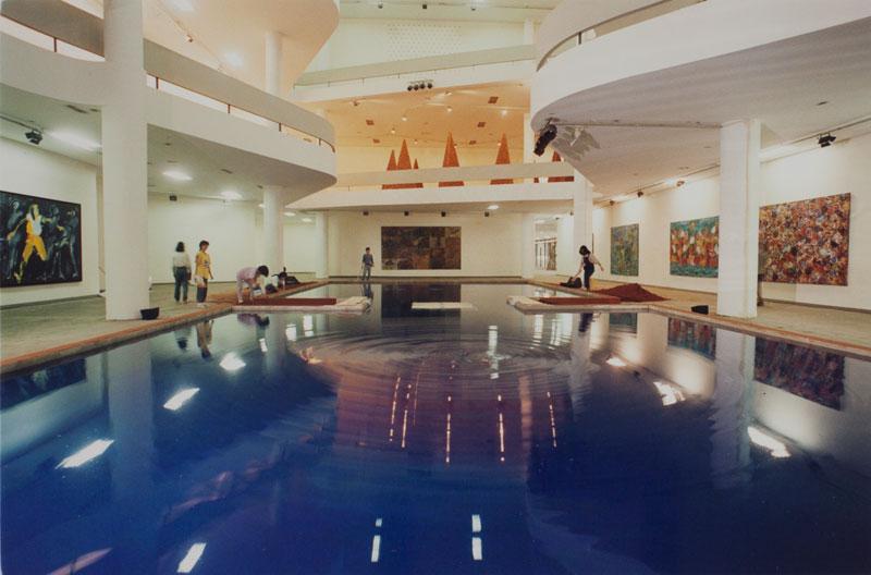 Ichi Ikeda, Water Mirror in Sao Paulo [Espelho dágua em São Paulo], representante do Japão na seção Projetos Individuais