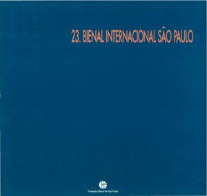 22791c2cca Catálogo   Catalogue 23 bienal sp - Bienal de São Paulo