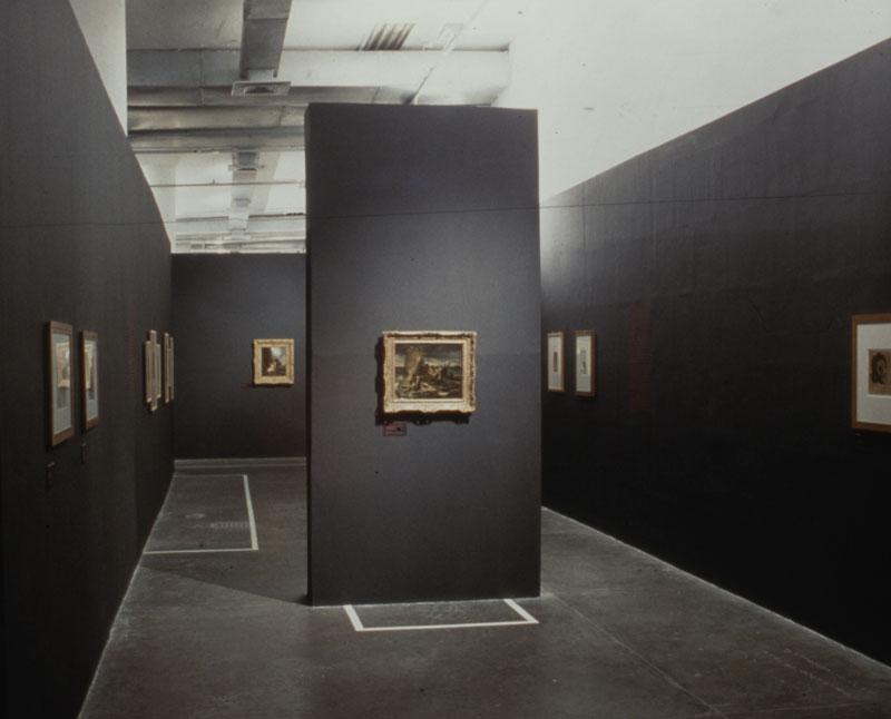 Núcleo Histórico da 24ª Bienal com vista para obra de Théodore Géricault, Le Radeau de la Meduse [A jangada da Medusa]