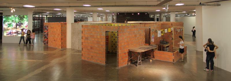 Vista dos Terreiros da 29ª Bienal