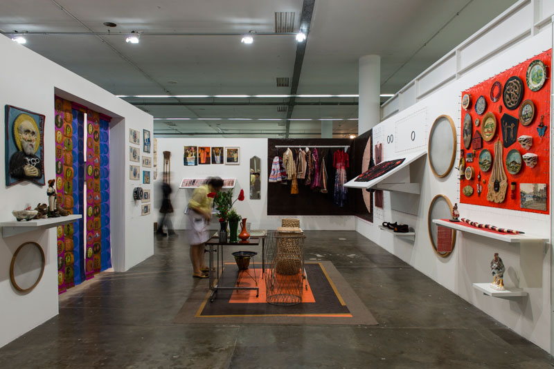 Sala dedicada ao artista f.marquespenteado