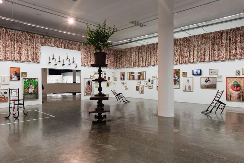 Sala dedicada ao artista Nino Cais