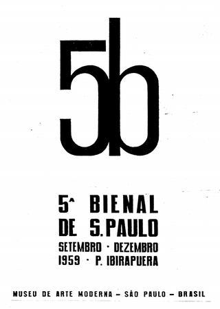 425612e9c Catálogo 5ª Bienal de São Paulo - Bienal de São Paulo