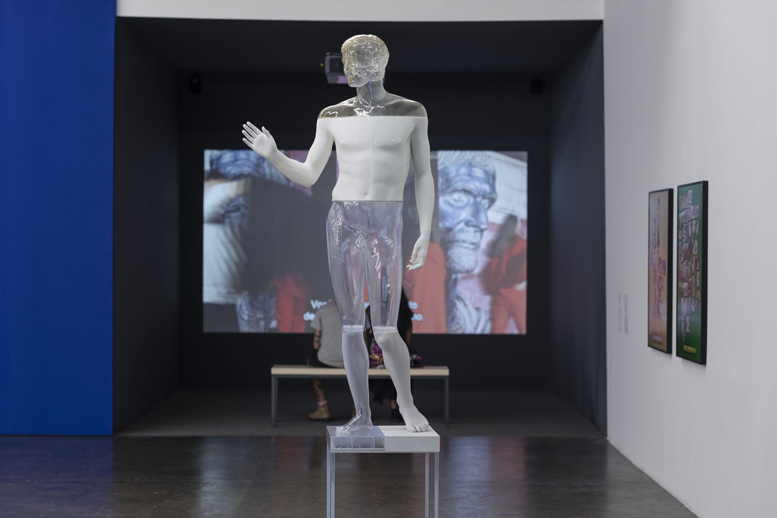 Oliver Laric, Jüngling vom Magdalensberg, 2018