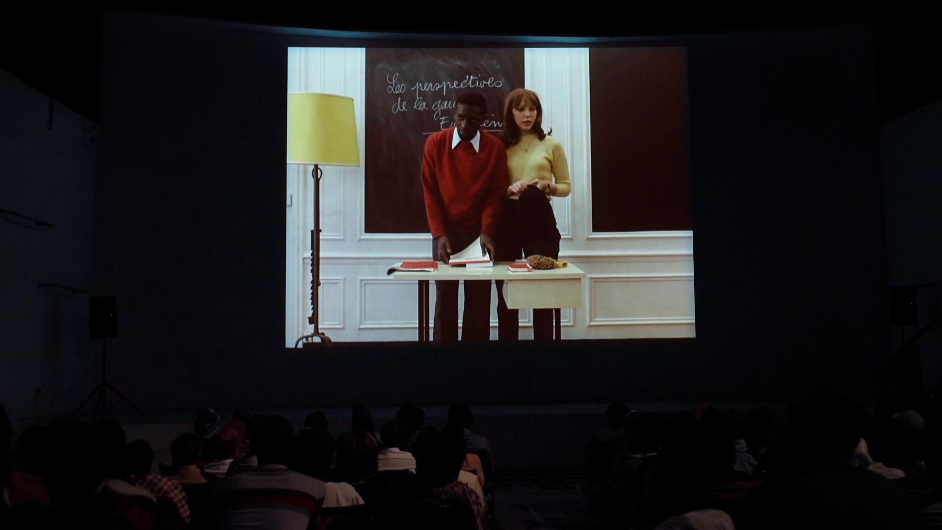 Vincent Messen, <i>Juste un mouvement</i>, 2021. Video still, 108''. Courtesy of the artist