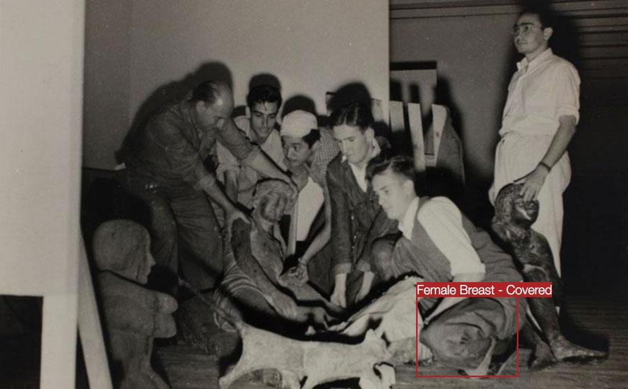 Bruno Moreschi, Ação Registros decodificados: passado oficial (frame de vídeo)