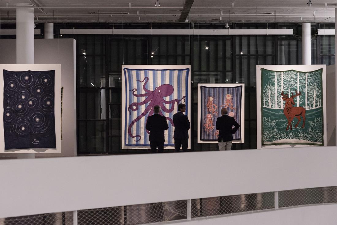 Feliciano Centurión, Inmensamente azul, 1991; Sem título, 1993; Anémonas, 1994; Ciervo, 1994