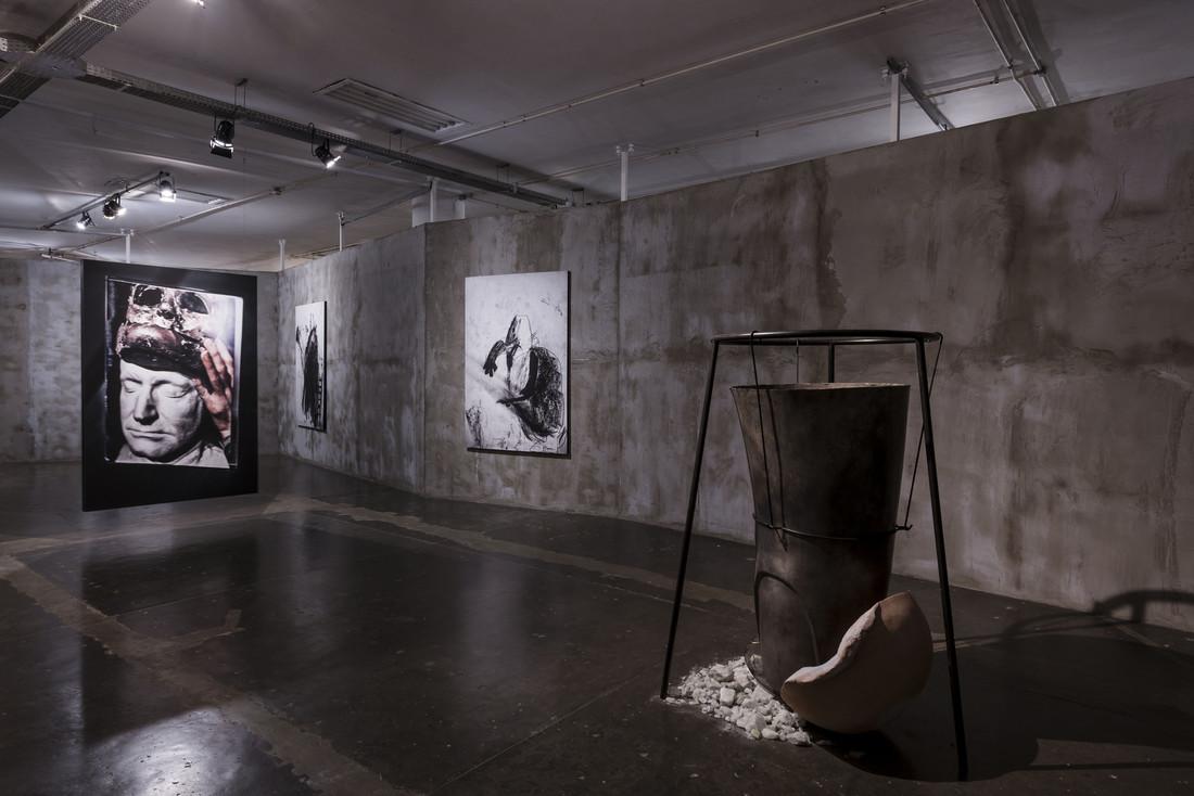 Sofia Borges, Religare, 2016; O Monstro e a Árvore de Rafael, 2018; Tunga, Sem título, 2014