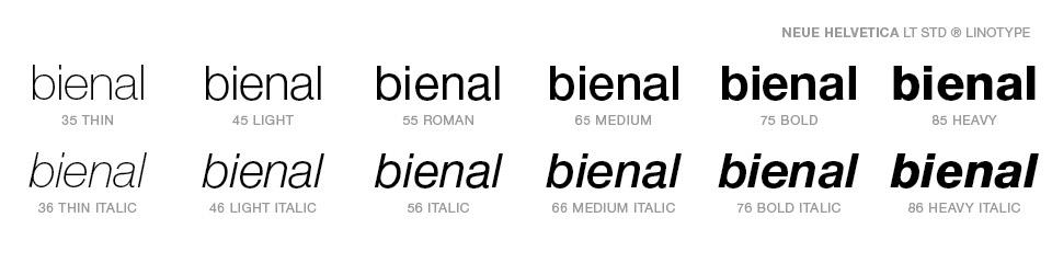 identidade visual - Bienal