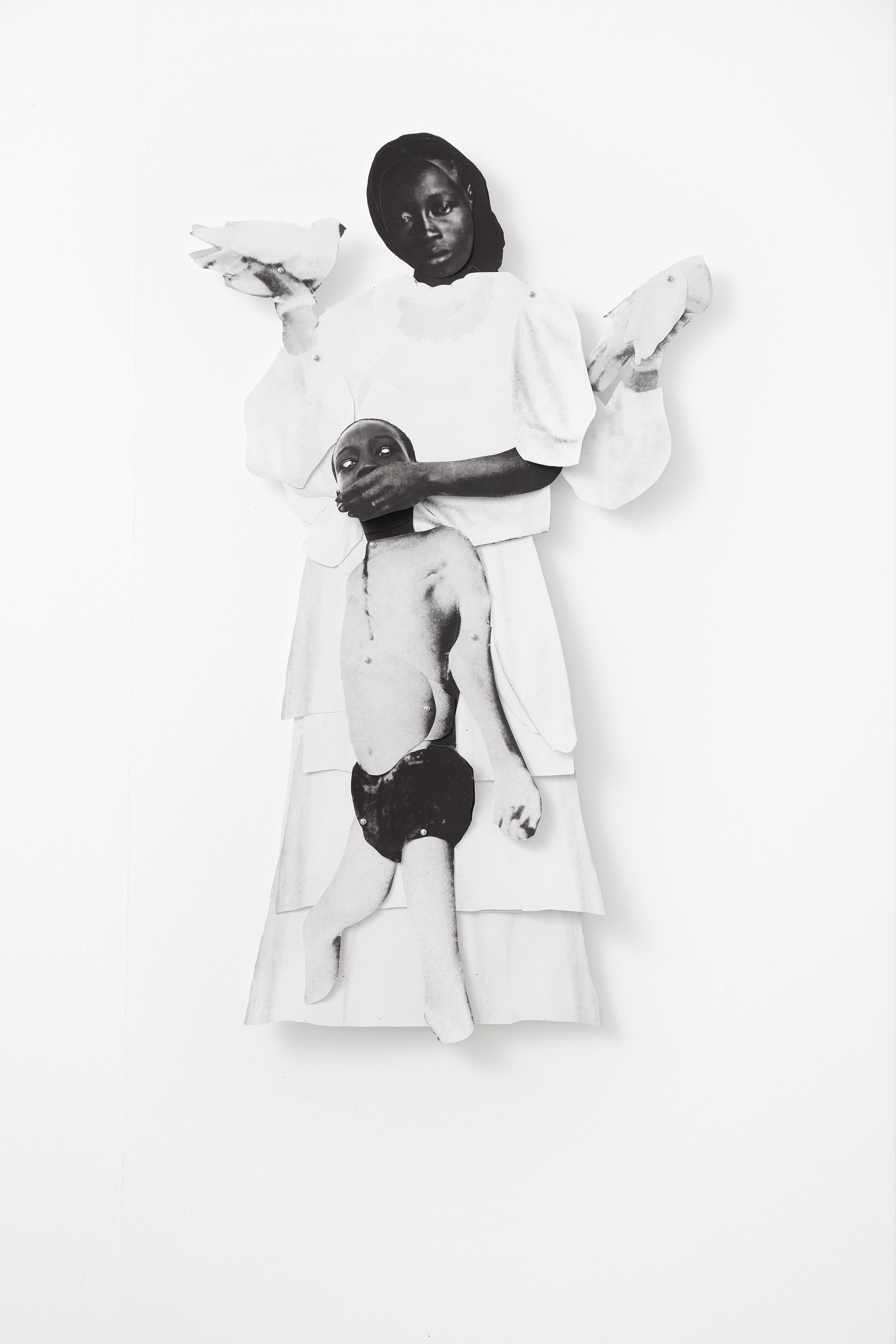 Frida Orupabo, <i>Untitled</i>, 2018. Photo: Gerhard Kassner. Courtesy of the artist