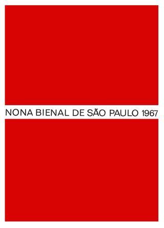 fccbc338f30 Catálogo 9ª Bienal de São Paulo - Bienal de São Paulo